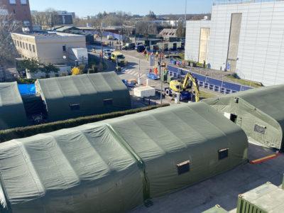 COVID-19: НАТО розгорнуло у Люксембурзі польовий шпиталь