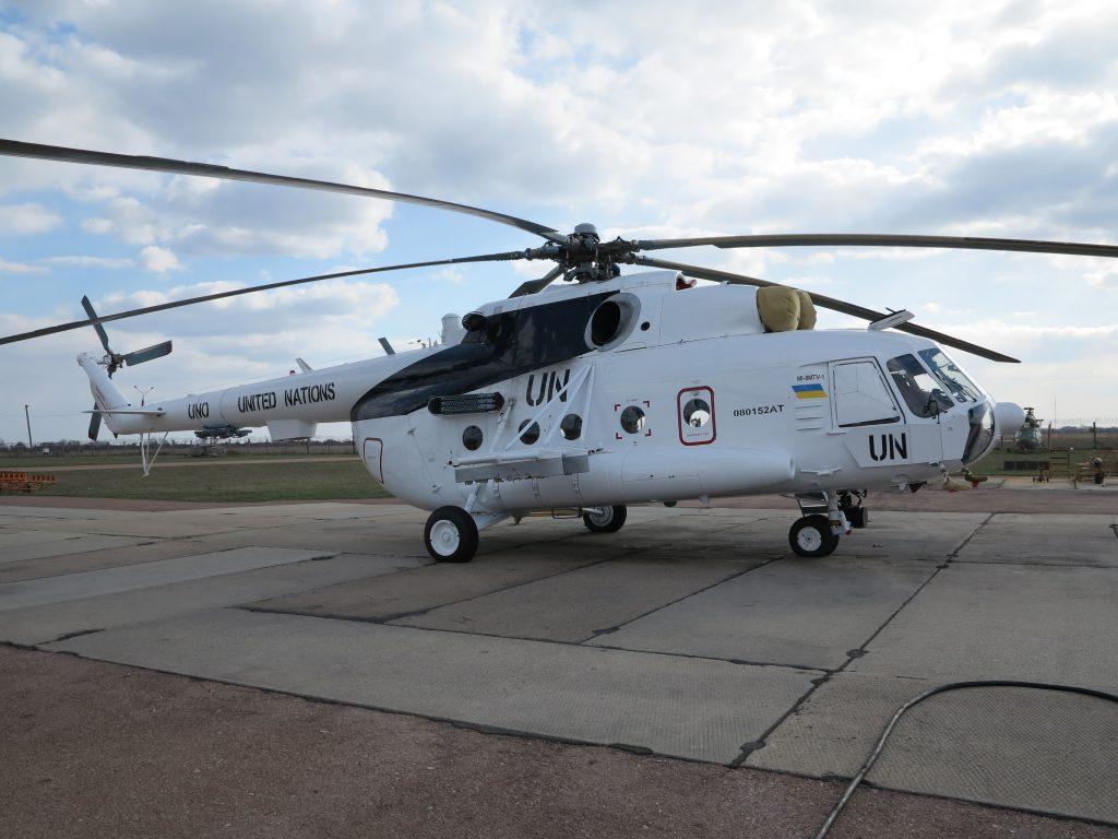 «Авіакон» передав військовим три модернізовані вертольоти для виконання завдань у рамках Місії ООН