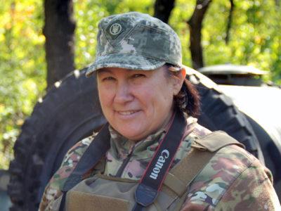 «Книгу «Вітер зі Сходу» допишу, коли завершиться війна» – пресофіцерка ОК «Північ» Олена Мокренчук