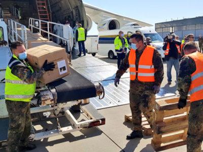 10 мільйонів медичних масок український літак «Мрія» доставив до Німеччини