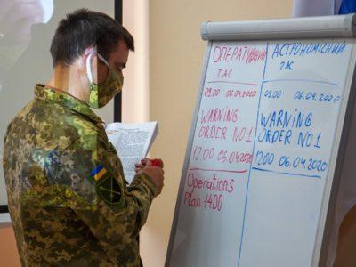 Штабні навчання за процедурами НАТО вперше проведені в морській піхоті