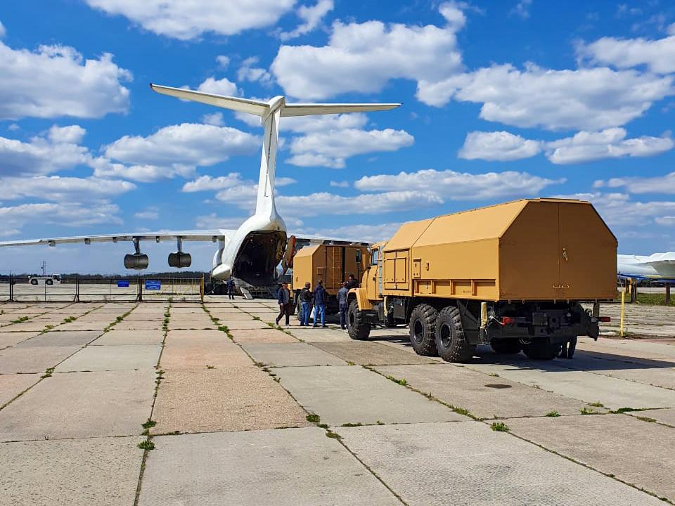 Укрспецекспорт відвантажив за кордон чергову партію військової техніки