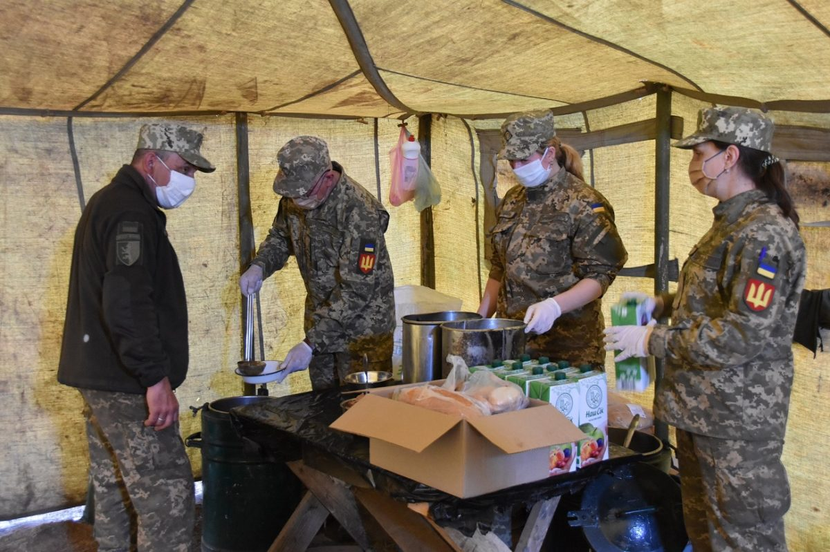 Як захищають солдата від СOVID-19 у польових умовах
