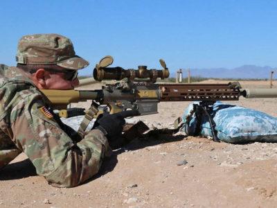 Армія США отримала першу партію нових снайперських гвинтівок M110A1