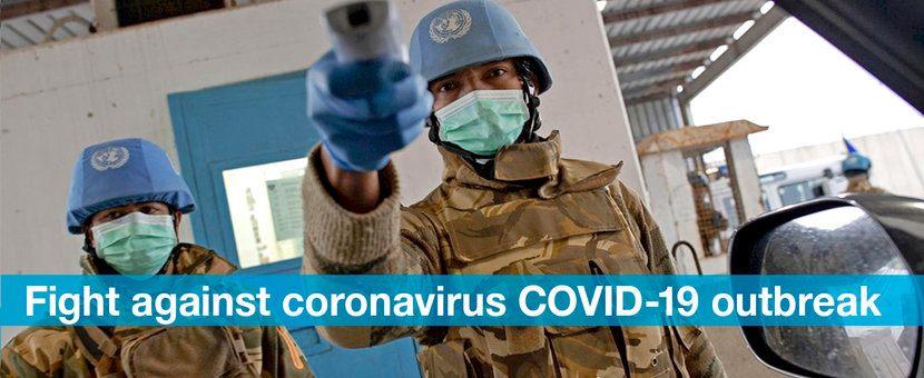 Миротворці ООН і COVID-19