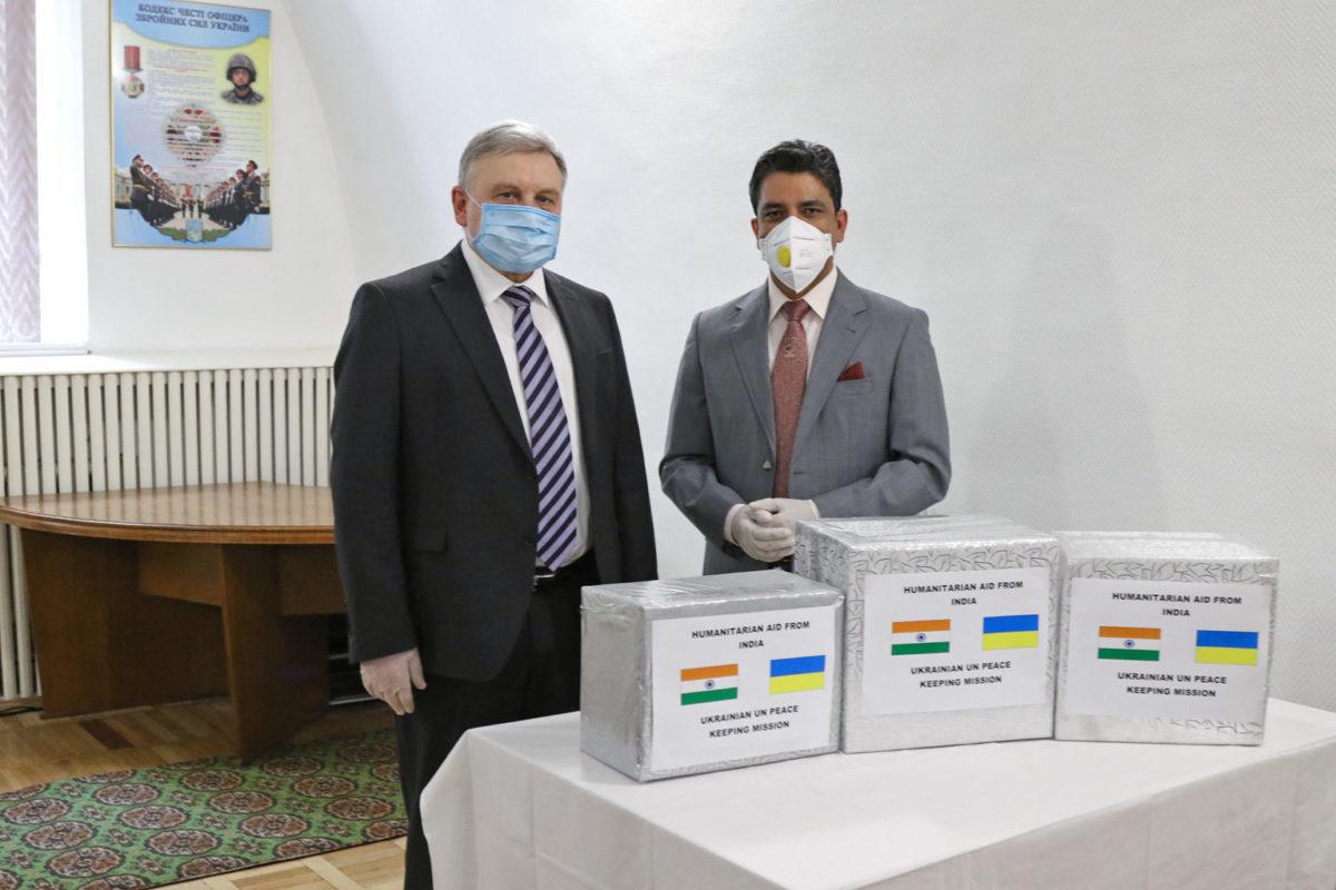 «Маємо за честь допомогти українському війську», – Надзвичайний і Повноважний Посол Індії в Україні Партха Сатпатхі