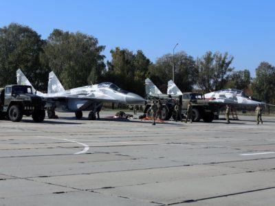 У Повітряних Силах відпрацьовують бойову роботу в новій організаційно-штатній структурі