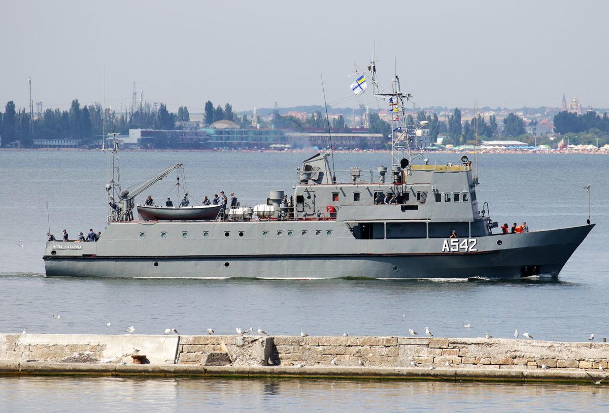 Навчальний катер ВМС «Нова Каховка» пройде доковий ремонт