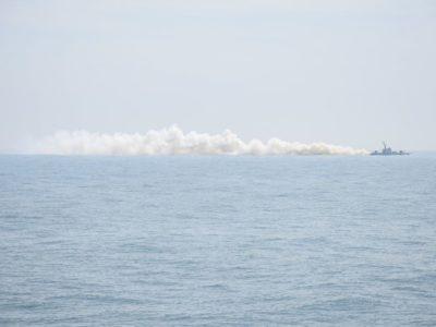 У ВМС ЗС України перевірили спроможності нового артилерійського катера