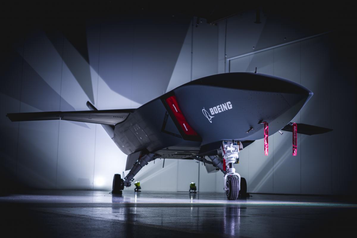Boeing створив військовий дрон зі штучним інтелектом