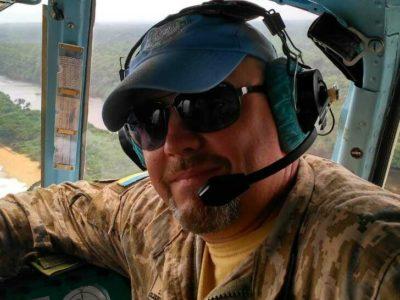 На рахунку вертолітника вісім миротворчих місій в Африку