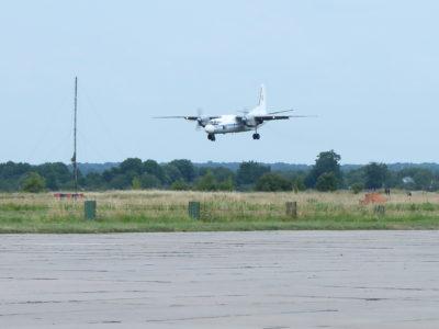 Військові транспортники відпрацювали техніку пілотування і навігації