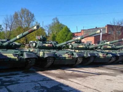 Військо отримало чергову партію модернізованих танків