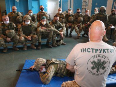 «Борсуків»  навчали тактичної медицини