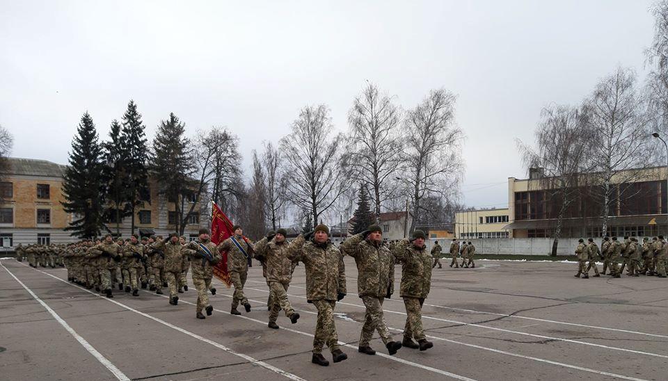 Вітаємо воїнів окремої реактивної артилерійської бригади з 12-річчям створення