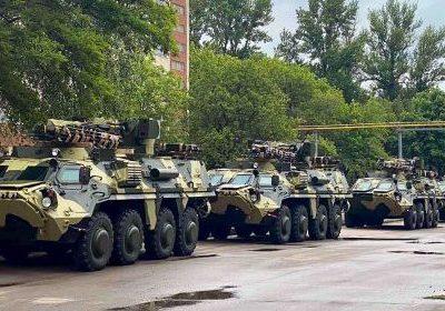 Українському війську передали чергову партію бронетранспортерів БТР-4Е