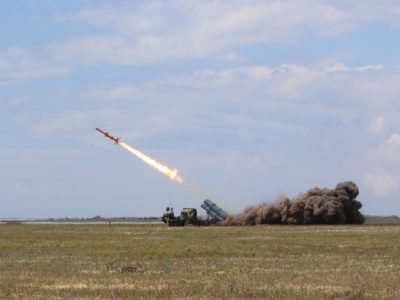 В Одеській області проходять державні випробування ракетного комплексу «Нептун»