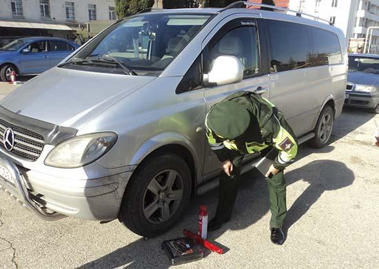 У росармії командир може поставити особистий транспорт підлеглого на штрафмайданчик