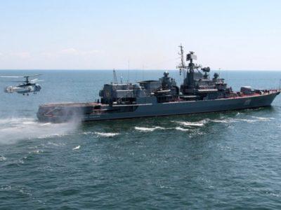 Українські моряки вкотре зафіксували порушення морського права з боку Чорноморського флоту РФ