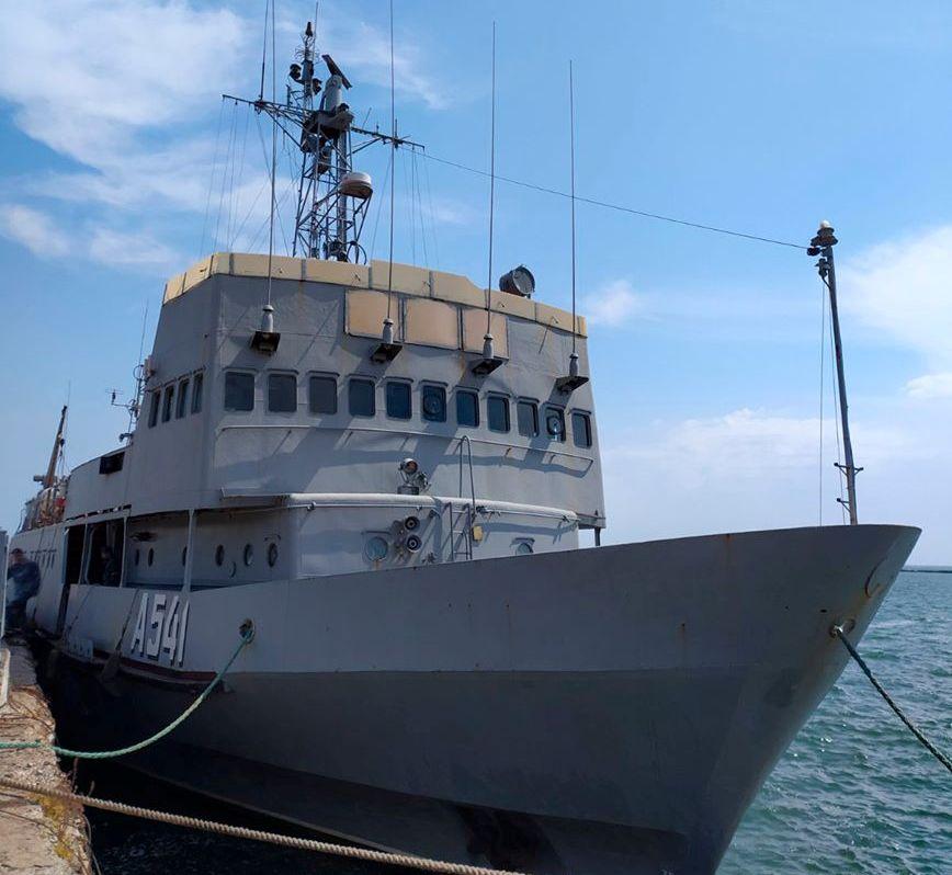 До Одеси після успішного виконання завдань у морі повернувся навчальний катер ВМС ЗС України «Сміла»