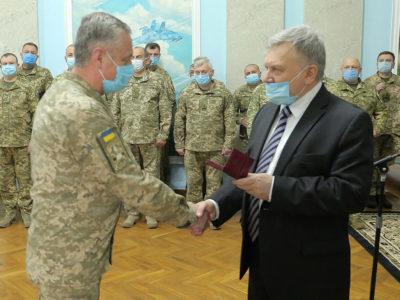 В Міноборони України відбулася церемонія вручення державних нагород та відомчих відзнак