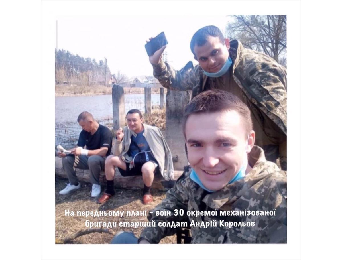 Історія одного піхотинця…