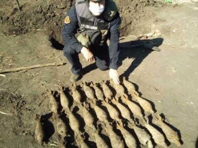 Робота з розмінування Донбасу триває