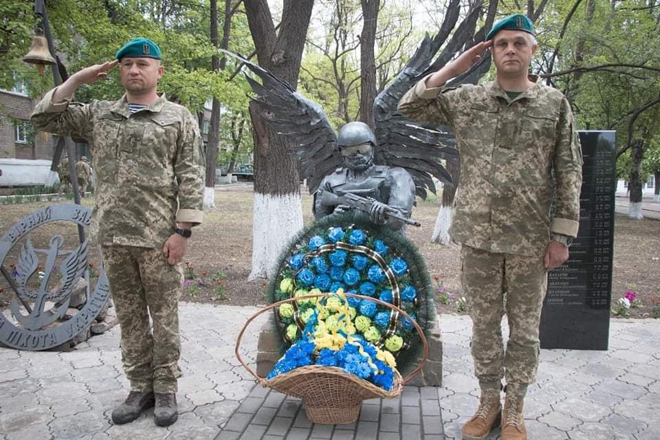 Морпіхи вшанували пам'ять загиблого побратима