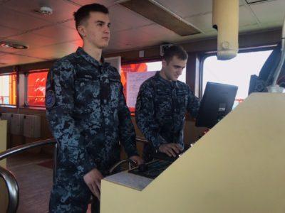 Як проходить випробування морем курсантів-четвертокурсників