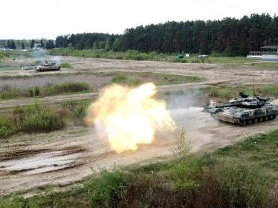 Ворожий танк з'являвся двічі на 25 секунд, або Як відстрілялися львівські курсанти  під час перших контрольних стрільб з танка штатним пострілом