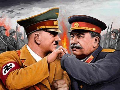 Сталін, як і Гітлер, прагнув панування у світі