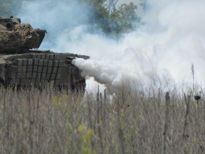 У районі ООС змагалися танкісти