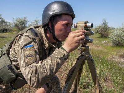 Артилеристи тренувалися діяти у складі розвідувальних вогневих комплексів