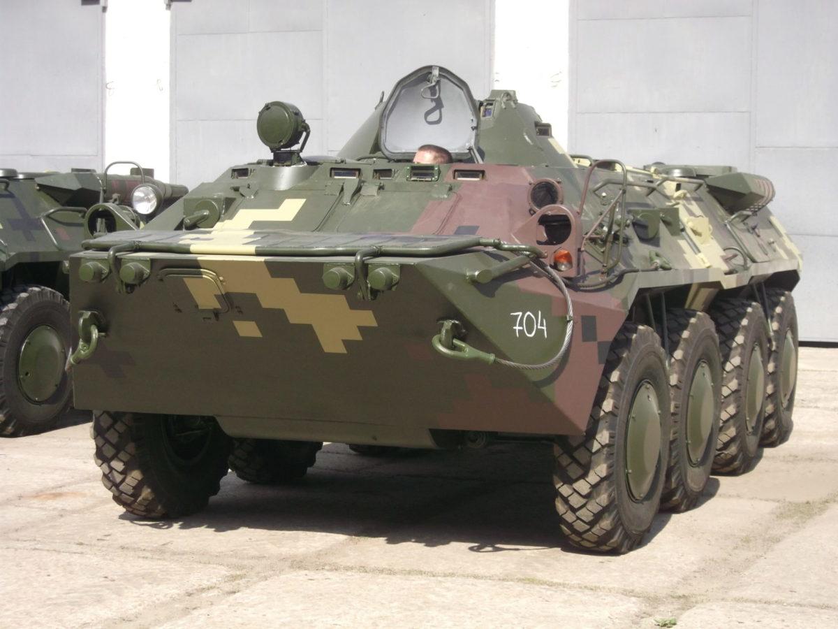 Війську передали партію бронетранспортерів БТР-80