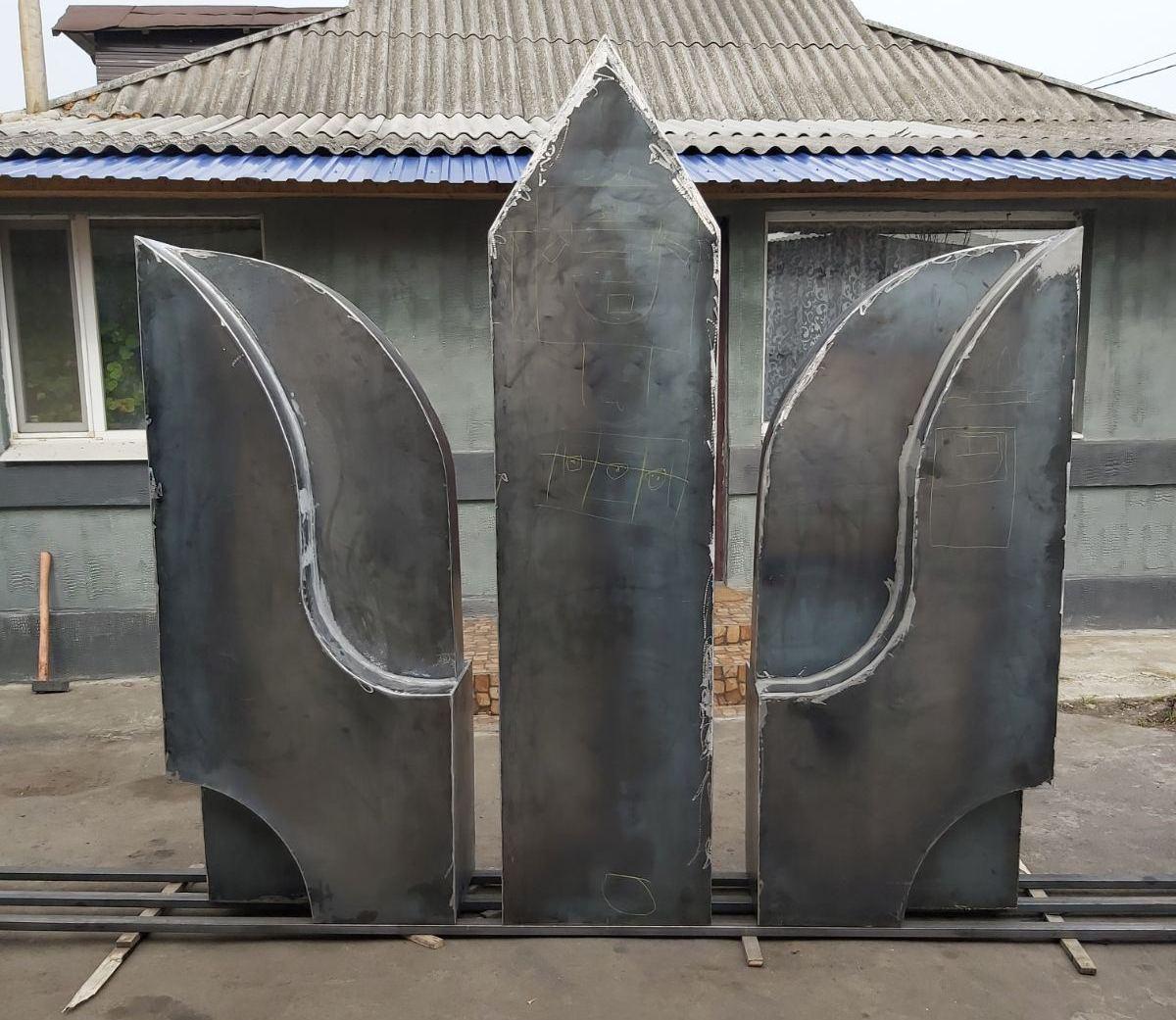 На Кіровоградщині учасники бойових дій зводять пам'ятник загиблим побратимам