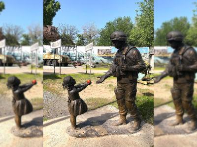 Історія і сучасність скульптурної композиції «Вдячність»,  або Як дніпряни шанують тих, хто їх захищає