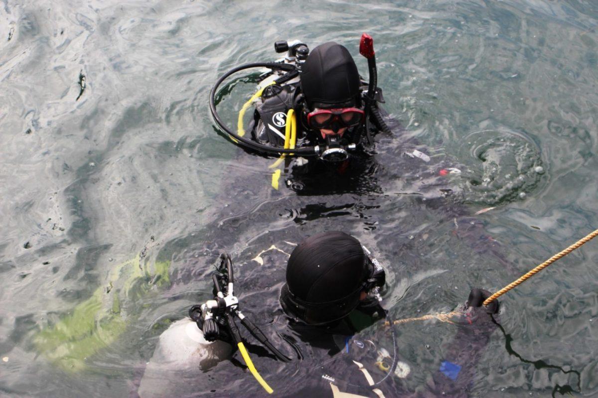 Військові водолази обстежили затонулий об'єкт в акваторії Одеського порту