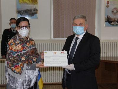 7 апаратів штучної вентиляції легень отримав столичний військовий госпіталь від наших міжнародних партнерів