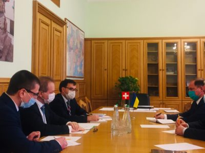 Посольство Швейцарії в Україні підтримає Мінветеранів в реалізації Держполітики щодо реабілітації та соціалізації ветеранів війни