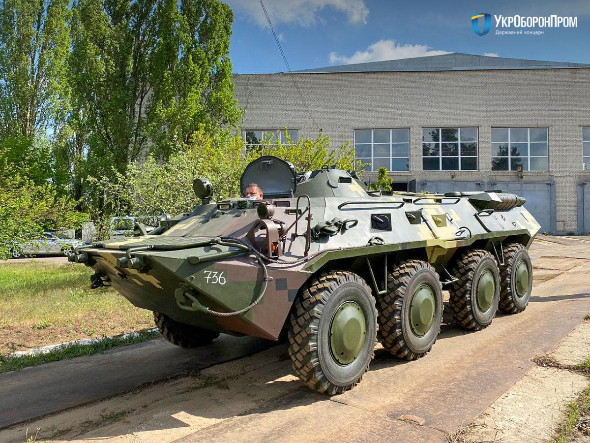 До Збройних Сил передали партію відремонтованої бронетехніки