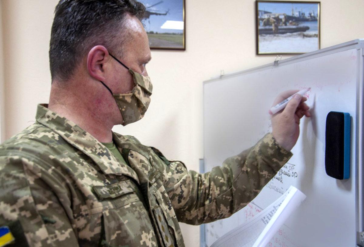 Морські піхотинці застосовували процедури НАТО під час планування операцій