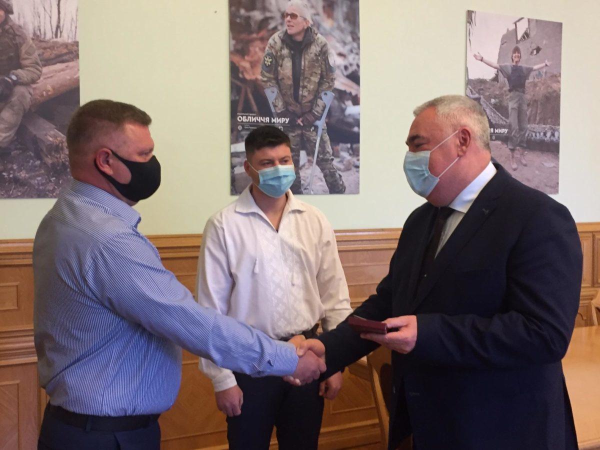 Парамедика Віктора Ніколайчука нагороджено медаллю «За врятоване життя»