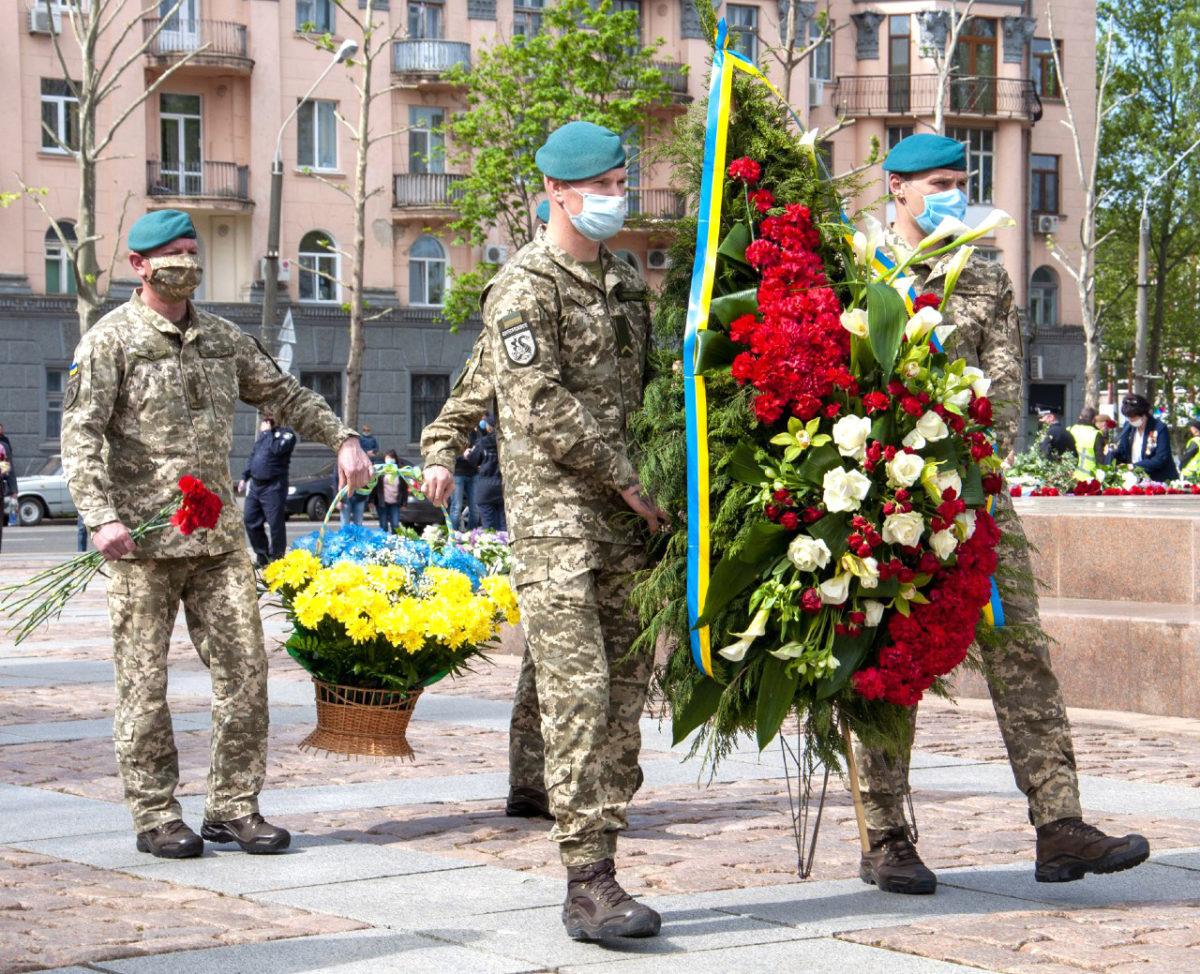 У Миколаєві вшанували подвиг ветеранів і пам'ять мільйонів загиблих у Другій світовій війні