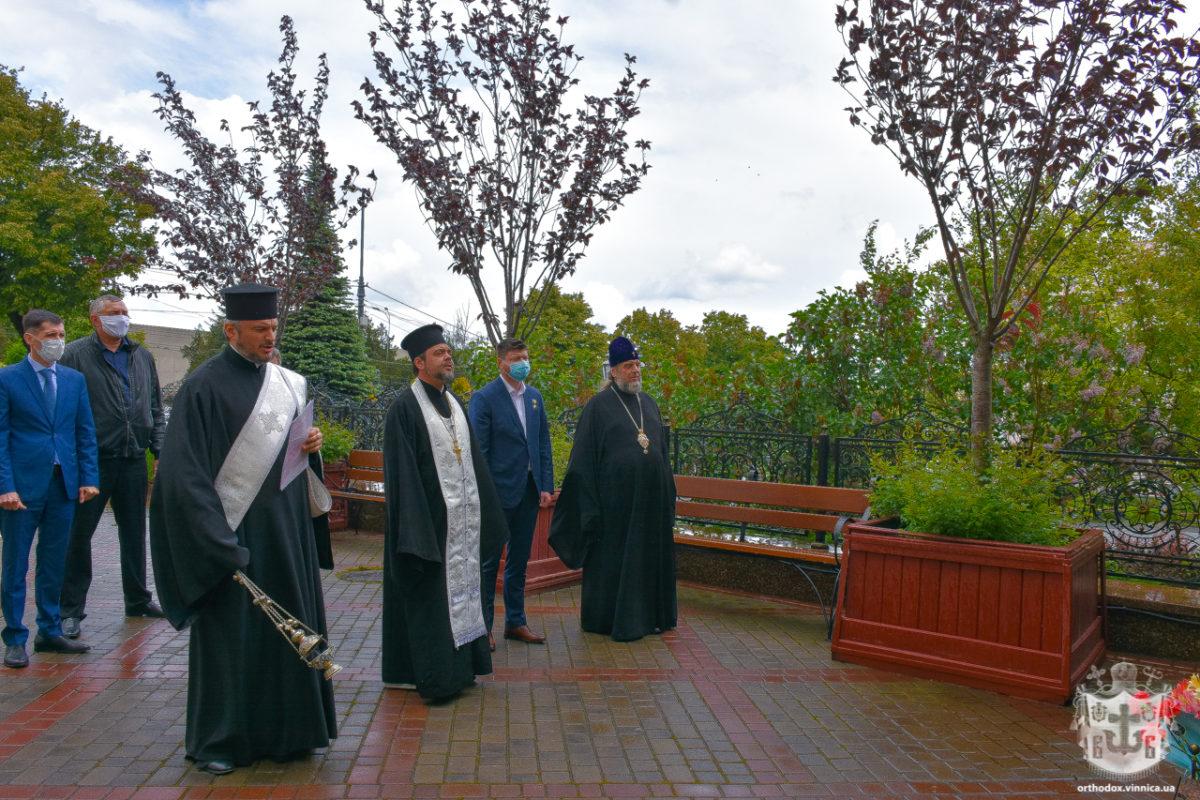 Олександр Порхун ушанував пам'ять загиблих воїнів Вінниччини
