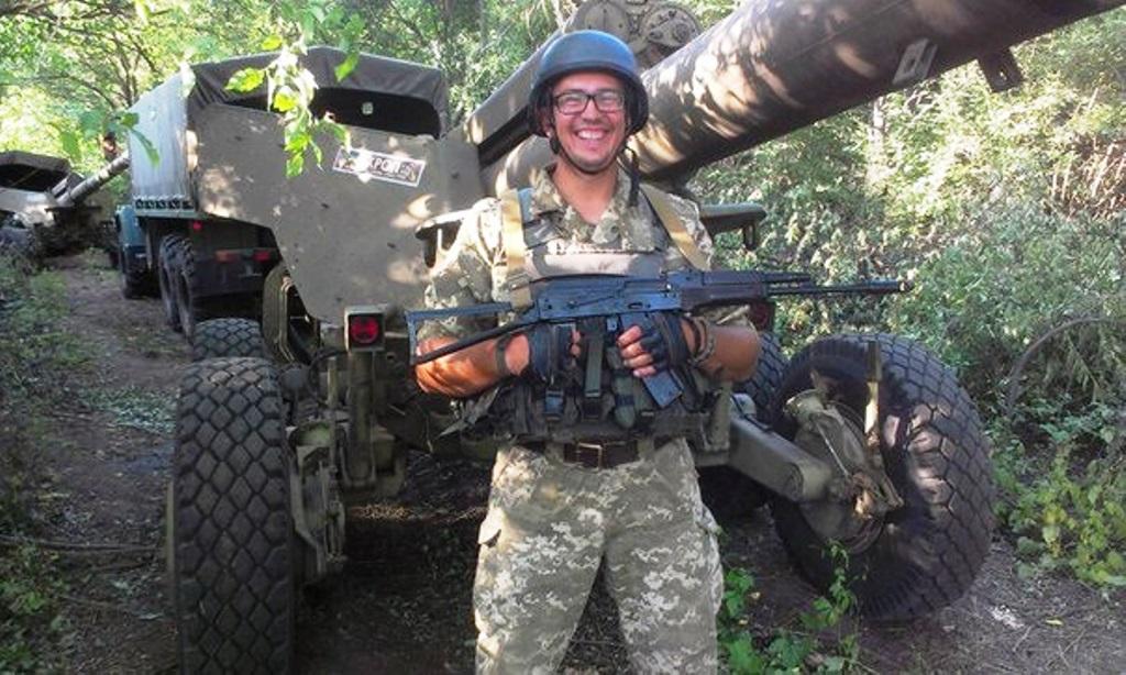 Історик Назар Розлуцький: «Нотатник мобілізованого» — це такий собі публіцистичний репортаж про власний військовий досвід»
