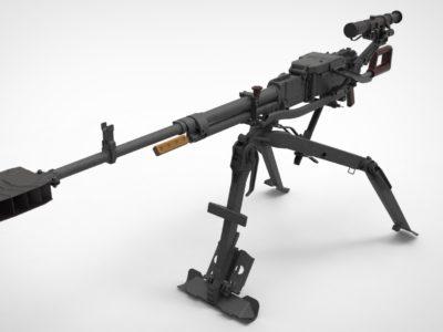 Про могутню зброю піхоти – великокаліберні кулемети