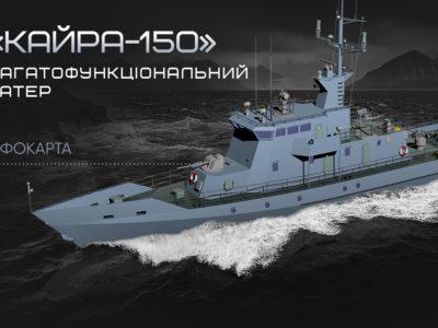 Багатофункціональний катер «КАЙРА-150»
