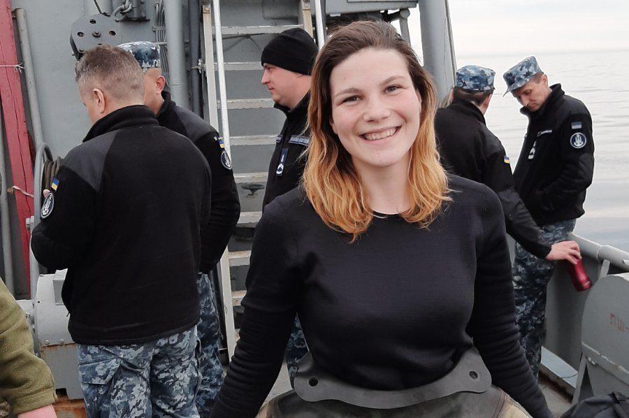 Перша жінка-водолаз у нашому війську пройшла випробування, які не витримують до 70 відсотків чоловіків