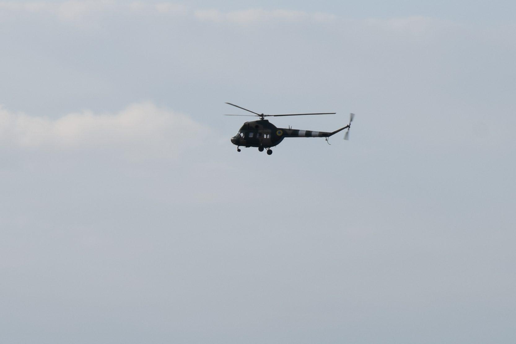 Вертолітники літали вночі з використанням сучасних окулярів нічного бачення