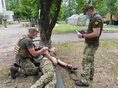 В Об'єднаних силах визначили найкращого бойового медика ОТУ «Північ»